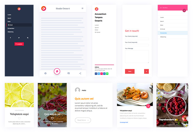 demos with wpbakery page builder
